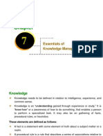 Ch- 07 (Essentials of Knowledge Management)