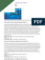 Asia's Best Dive Sites