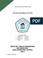 Laporan Tugas Besar Kelompok 5 Flowchart Dfd Erd Cdm Pdm