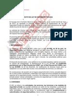 Informe CNC Apryto Ley Seguridad Privada