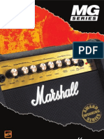 Marshall MG series brochure