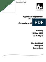 The Draft Local Plan 2013