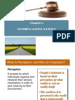 Decision Making &  Ethics