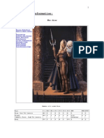 Drow Elves R.C.C. Information