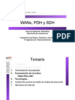WANs,PDH y SDH