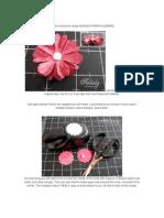 Paper Flowers, Sobres y Cajas