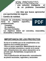 Proyectos 1ra UnidadX