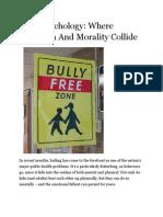 Bully Psychology