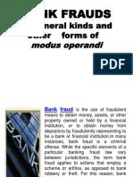 1. Bank Fraud Modus Kinds