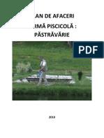 4. Plan de Afaceri - Pastravarie