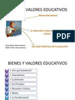 Bienes y Valores Educativos