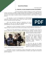 13/05/12 Germán Tenorio Vasconcelos HIPERTENSIÓN ARTERIAL, PRINCIPAL CAUSA DE MUERTE ENTRE OAXAQUEÑOS