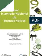 Inventario Nacional de Bosques Nativos