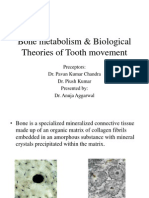 bone metab and tooth movement
