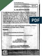 Art de Prensa Diario Ultimas Noticias Del 09 de Junio de 2013- Inces