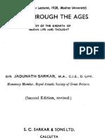 India Through the Ages Jadunath Sarkar