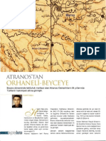 Atranos'tan Orhaneli-Beyce'ye; Niyazi Topçu