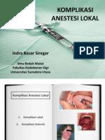 Komplikasi Anestesi Lokal 1