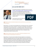 Energy Management and ISO 50001:2011