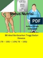 Status Nutrisi