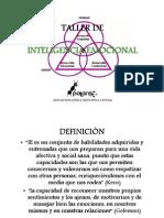 taller Inteligencia Emocional (Asociación Palante)