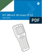 MC1000 With Windows CE 5.0 User Guide