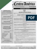 ACUERDO 213-2013 Reglamento Del Decreto 10-2012