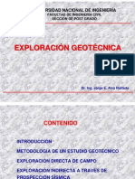 Exploracion Geotecnica