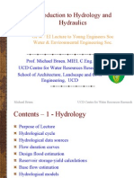 Introduction to Hydrology and Hydraulics