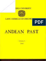 ANDEAN PAST Latin american studies program