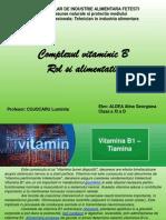 Complexul vitaminic B. Rol si alimentatie