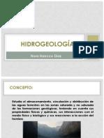 Exposicion de Hidrogeologia.....