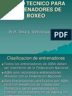 Análisis Técnico-Táctico del Boxeo Olímpico Actual (mexico)