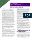 Dawn Newsletter Feb 2009