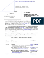WESTCHESTER SURPLUS LINES INSURANCE COMPANY v. DIVERSIFIED PRODUCTS MANUFACTURING, INC. et al ADR Scheduling Order