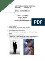 Capitulo 1 y 2 Etica a Nicomaco