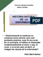 Historia Natural Del a Enfer Me Dad