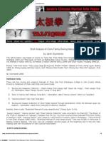 CFI Brief Analysis of Chen Manuals