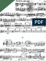 Original II movimiento Sonata Denisov