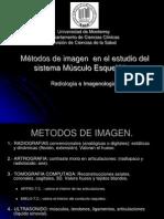 8. 1  Métodos de imagen  en el estudio del sistema musculo esquelético.