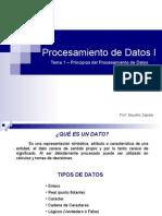 Principios del Procesamiento de Datos
