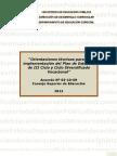 Orientaciones  para la implementación del Plan de Estudios de III Ciclo y Ciclo Diversificado Voc