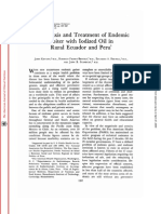 Profilaxis y tratamiento de Bocio ,Peru-Ecuador