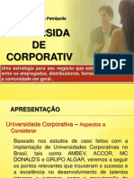 Modelo Universidade Corporativa