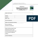 Formularios de Postulacion Subvencion Cultura 2013