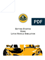 Getting Started With Lotus Vehicle Simulation