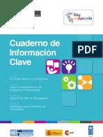 Cuaderno de Información Clave