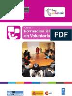Curso 1 - Formación Básica en Voluntariado