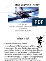 cooperative learning theory sept  26 1