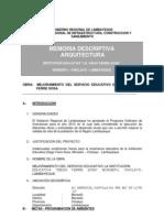 Memoria Descriptiva I.E Diego Ferré - Monsefú sin fotos.docx